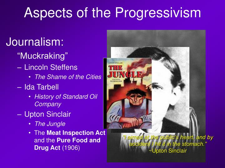 Aspects of the Progressivism