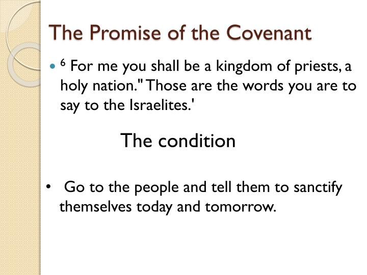 The Promise of the Covenant