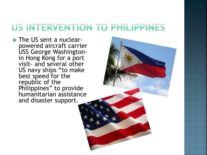 US intervention to Philippines