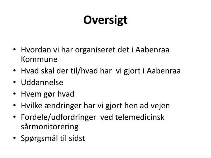 Oversigt