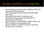 answer questions 1 5 on page 389