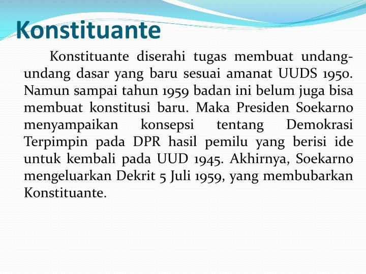 Konstituante
