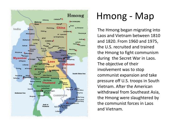 Hmong - Map