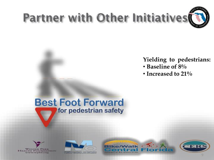 Partner with Other Initiatives
