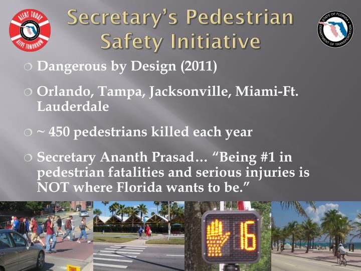 Secretary's Pedestrian