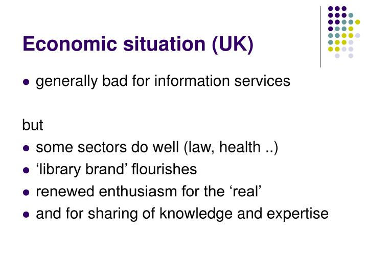 Economic situation (UK)