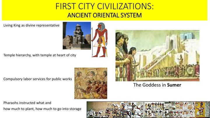 FIRST CITY CIVILIZATIONS: