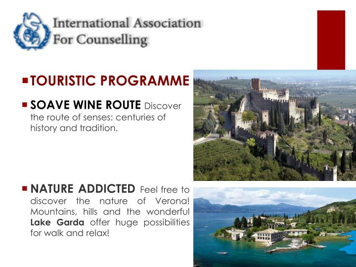 TOURISTIC PROGRAMME