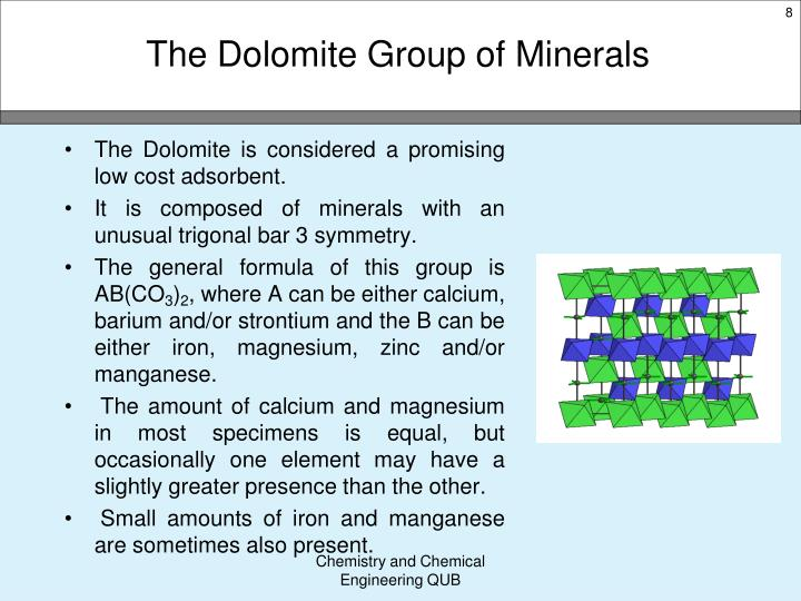 The Dolomite Group of Minerals