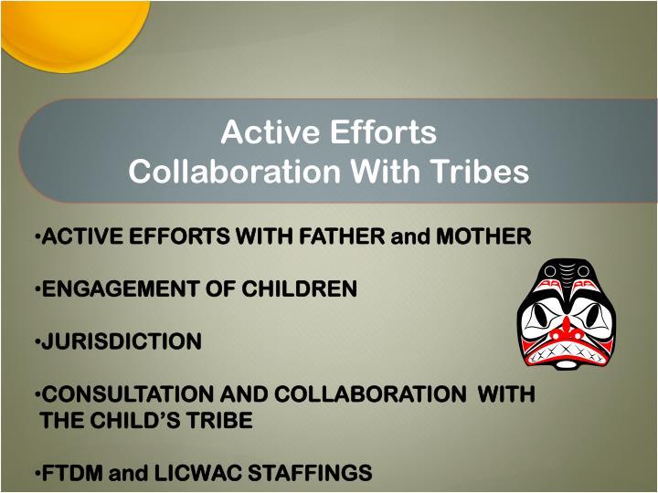 Active Efforts