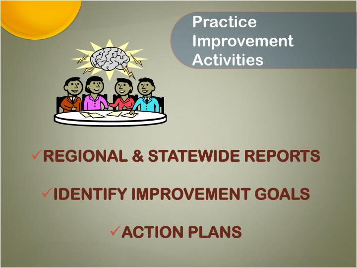 Practice Improvement Activities