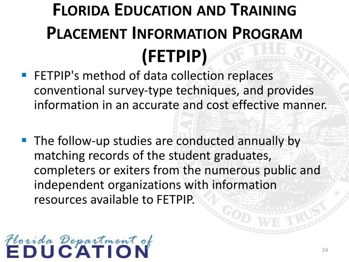 Florida Education and Training