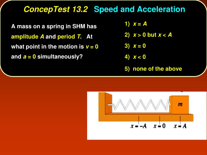 Conceptest 13 2 speed and acceleration