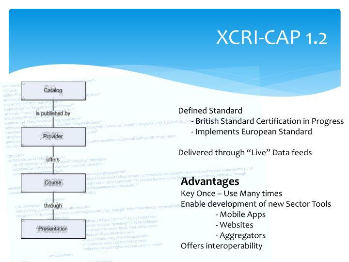 XCRI-CAP 1.2