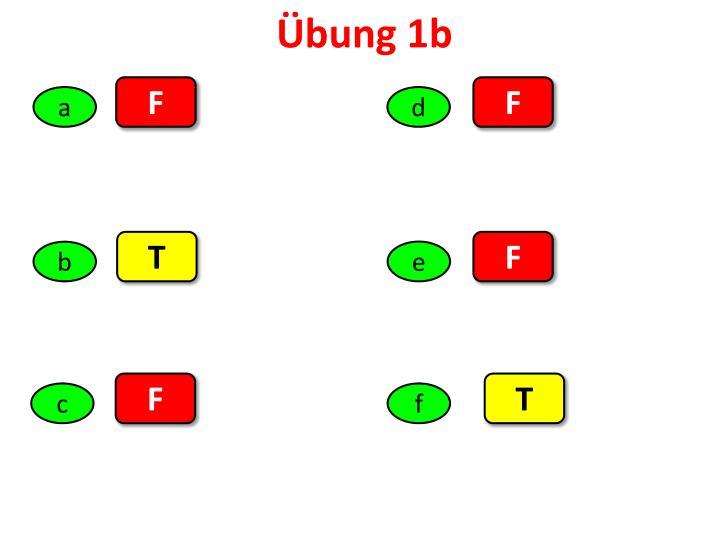Übung 1b