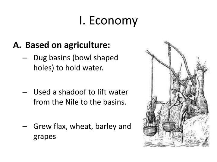 I. Economy