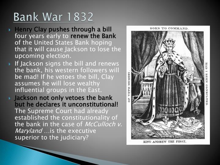 Bank War 1832
