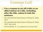 commas 12l3