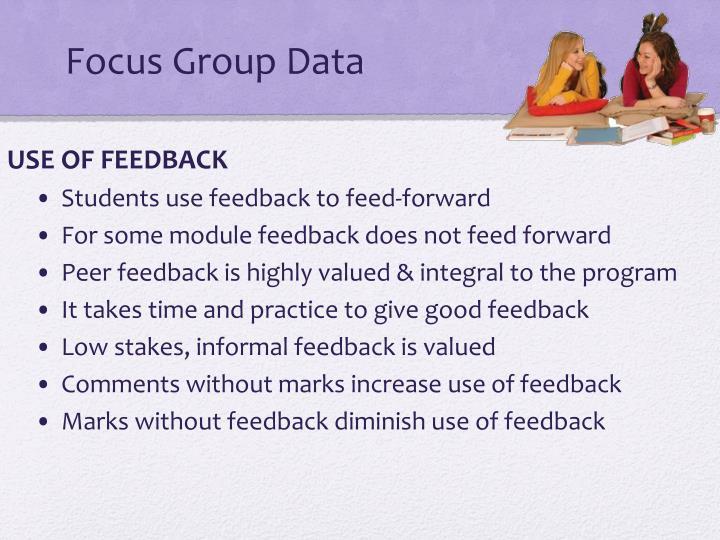 Focus Group Data