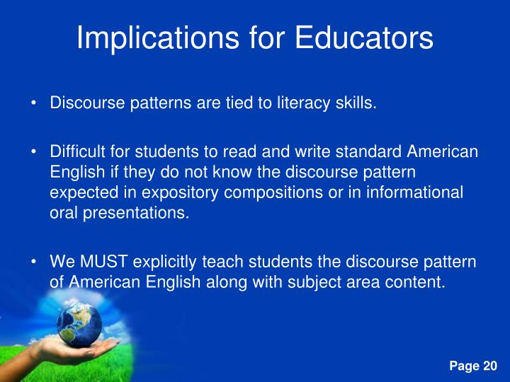 Implications for Educators
