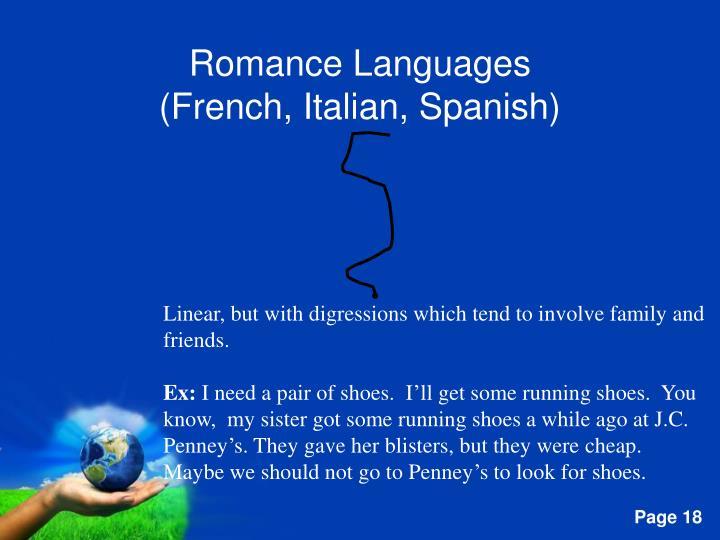 Romance Languages