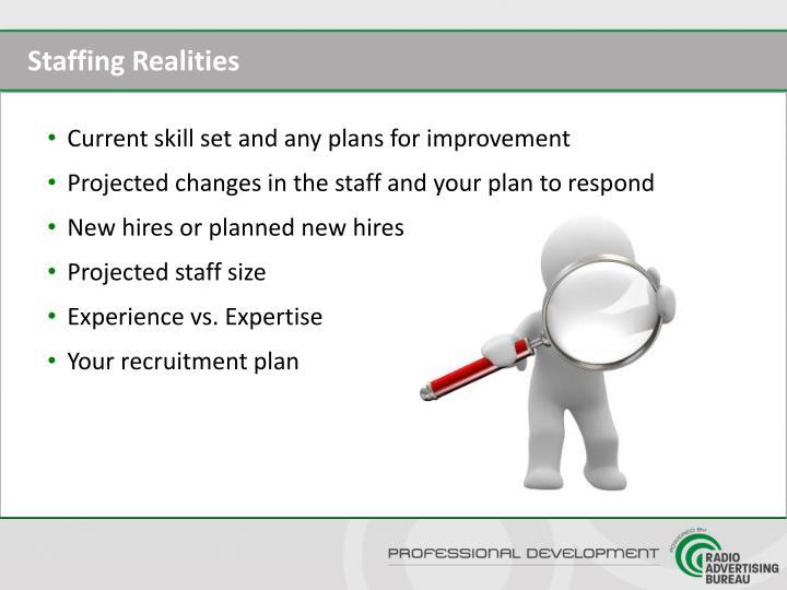 Staffing Realities