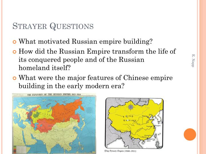 Strayer Questions