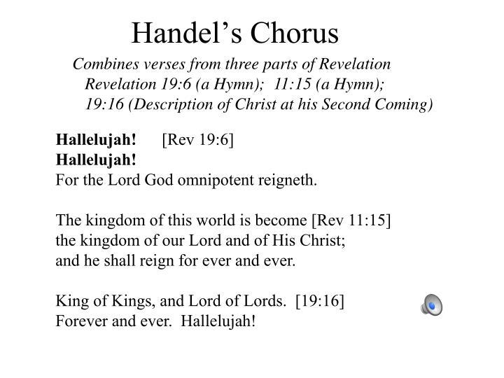 Handel's Chorus
