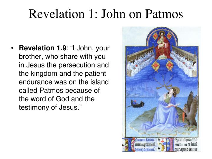 Revelation 1: John on Patmos