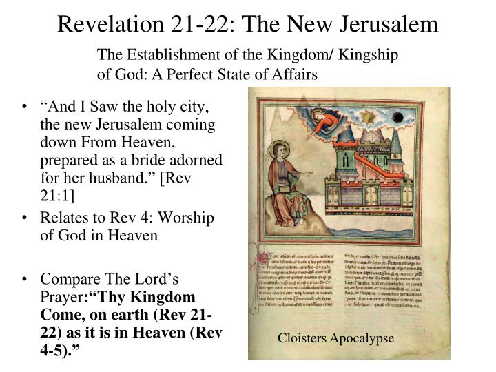 Revelation 21-22: The New Jerusalem