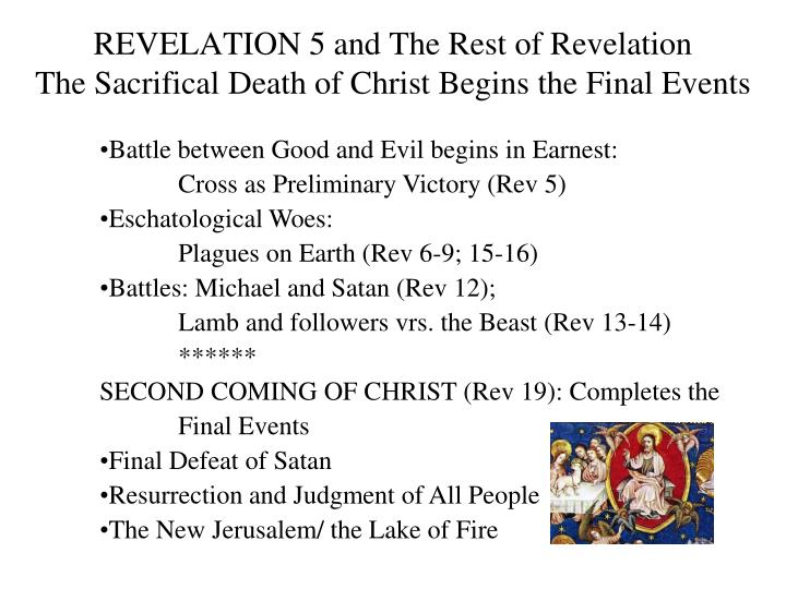 REVELATION 5 and The Rest of Revelation