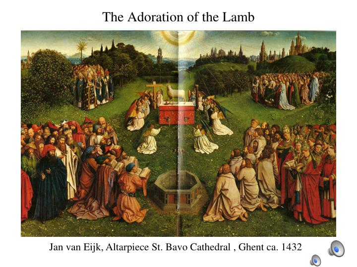 The Adoration of the Lamb