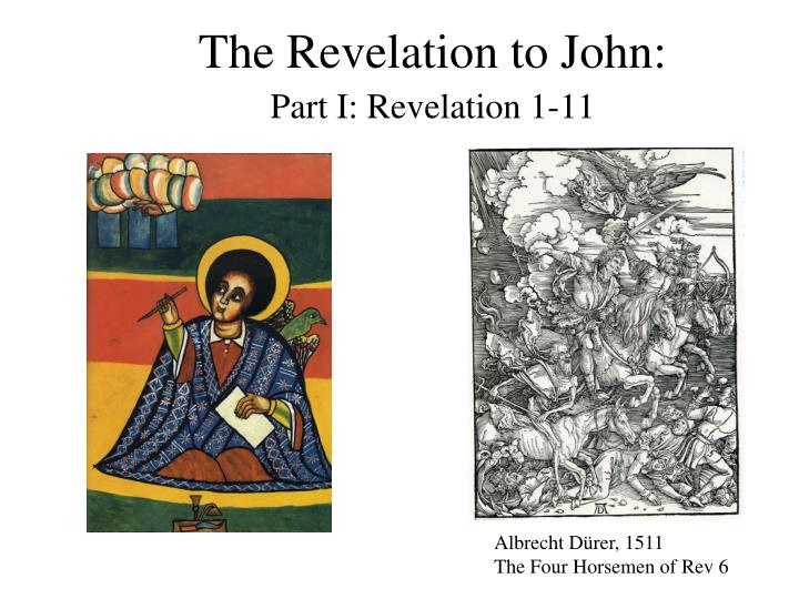 The Revelation to John:
