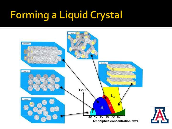 Forming a Liquid Crystal