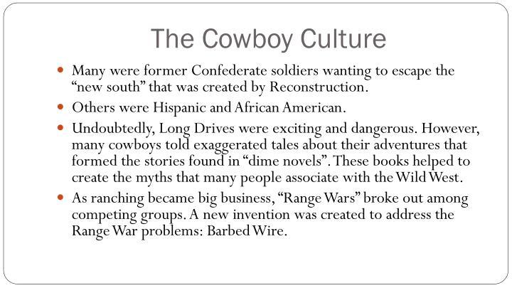 The Cowboy Culture