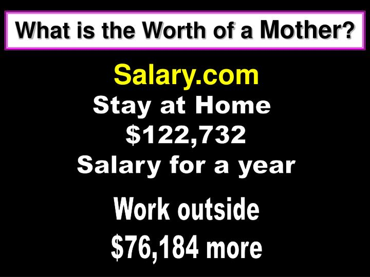What is the Worth of a