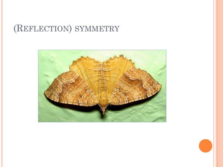 (Reflection) symmetry