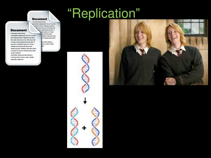 """Replication"""