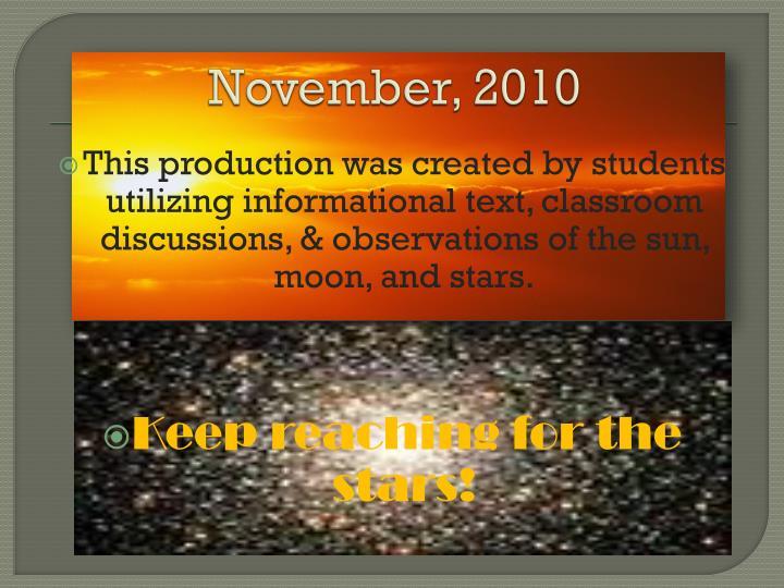 November, 2010