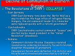 decline of communism in eastern europe1
