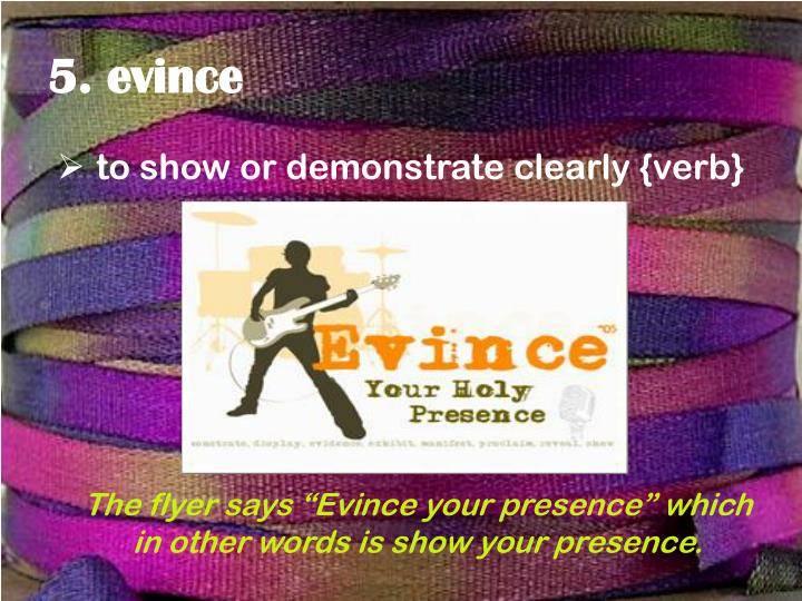 5. evince