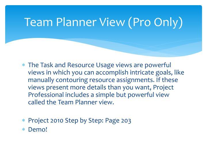 Team Planner