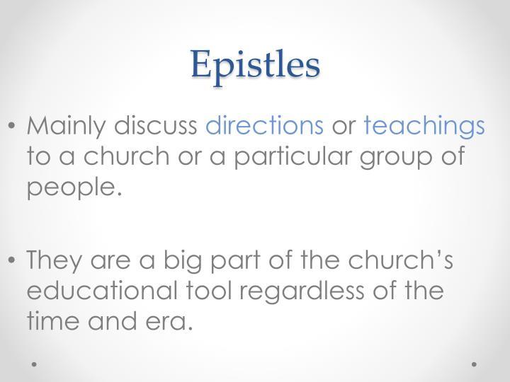Epistles