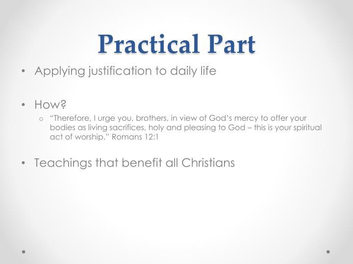 Practical Part