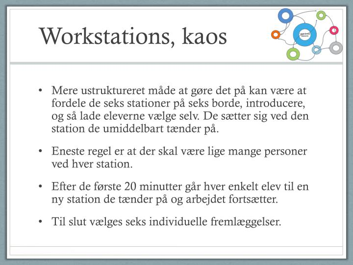 Workstations,
