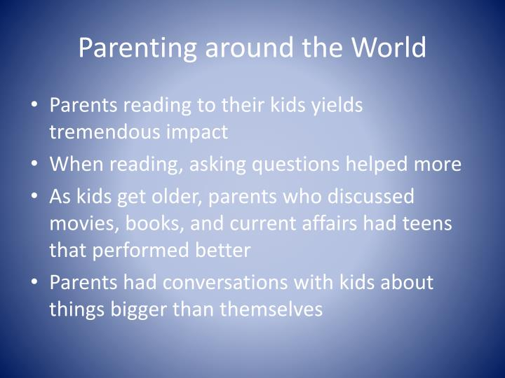 Parenting around the World