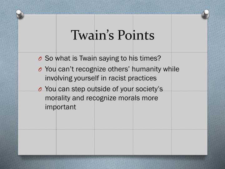 Twain's Points