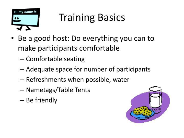 Training Basics