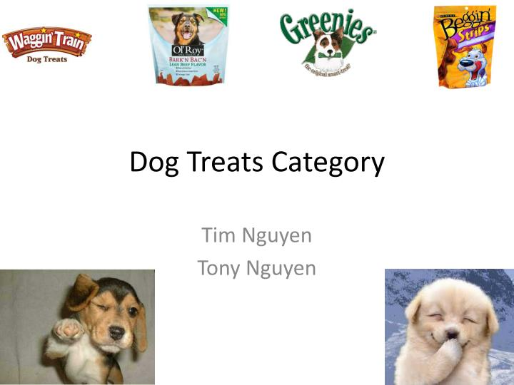 Dog treats category
