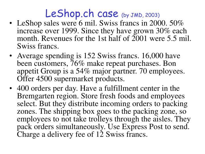 LeShop.ch case